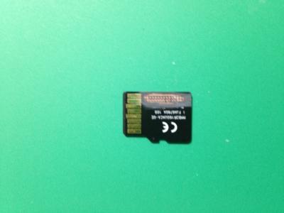 microSD 32GB 物理障害のデータ復旧_後面