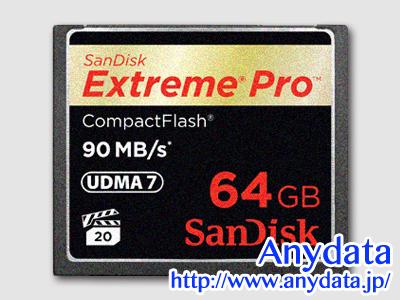 Sandisk サンディスク コンパクトフラッシュ CFカード Extreme Pro SDCFXP-064G-J92 64GB