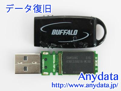 BUFFALO バッファロー USBメモリー RUF2-YUF8GS-BK 8GB