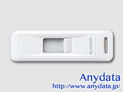 ELECOM エレコム USBメモリー MF-LSU304GWH 4GB-1