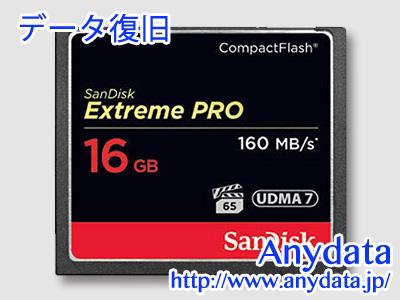 Sandisk サンディスク コンパクトフラッシュ CFカード Extreme Pro 16GB