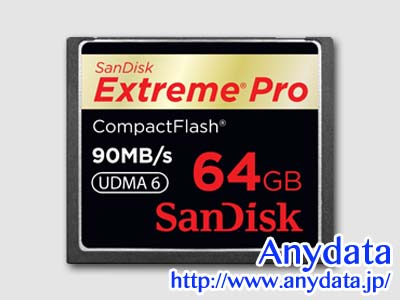 Sandisk サンディスク コンパクトフラッシュ CFカード Extreme Pro Extreme Pro 64GB