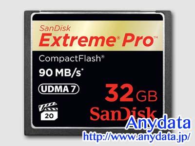 Sandisk サンディスク コンパクトフラッシュ CFカード Extreme Pro SDCFXP-032G-J92 32GB