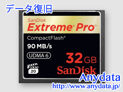 Sandisk サンディスク コンパクトフラッシュ CFカード Extreme Pro SDCFXP-032G-Z46 32GB