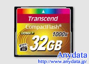 Transcend トランセンド コンパクトフラッシュ CFカード TS32GCF1000 32GB