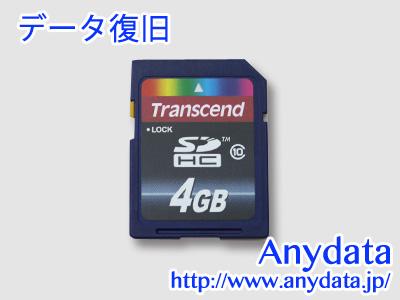 Transcend SDカード 4GB