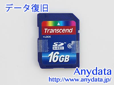 Transcend SDカード TS16GSDHC6 16GB