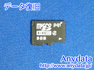 pqi microSDカード 8GB