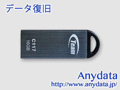TEAM USBメモリー TC11716GC01 16GB