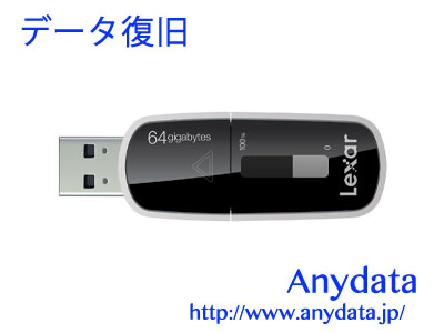 Lexar レキサー USBメモリー Echo MX Backup LEHMX64GBBJP 64GB