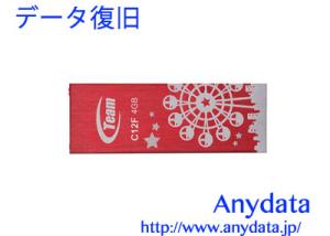 TEAM USBメモリー TC12F4GR01 4GB