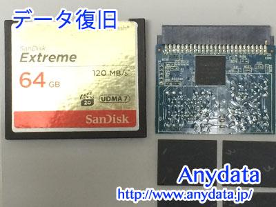 Sandisk CFカード 64GB