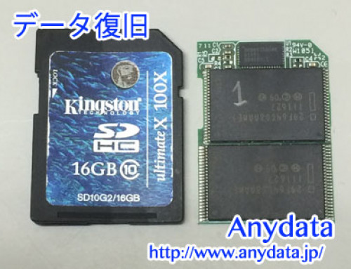 Kingston SDカード 16GB