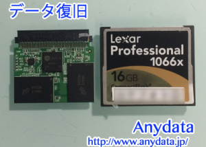 Lexar CFカード 16GB