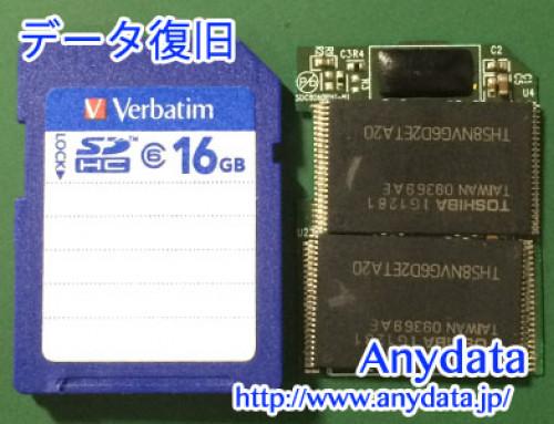 Verbatim製USBメモリー 16GB