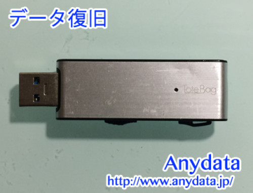 USBメモリー Totebag データ復旧