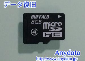 BUFFALO microSDカード 8GB