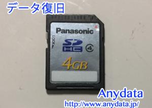 Panasonic SDカード 4GB