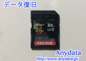 Sandisk製 SDカード 32GB