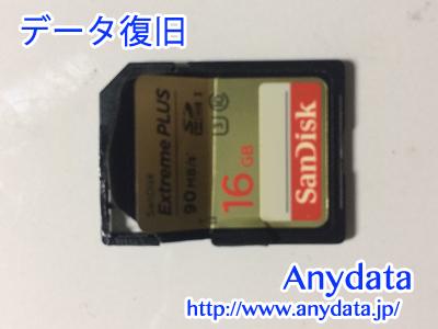 Sandisk製 SDカード 16GB
