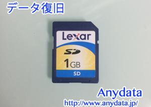 Lexar製 SDカード 1GB