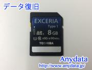 TOSHIBA SDカード 8GB