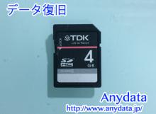 TDK SDカード 4GB