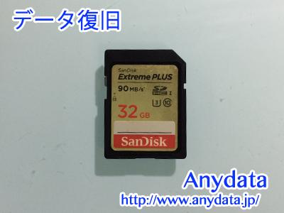 Sandisk SDカード 32GB