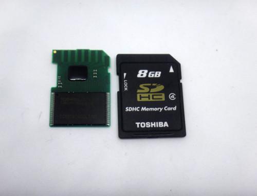 TOSHIBA SDcard 8GB (ModelNO:SDL008G4)