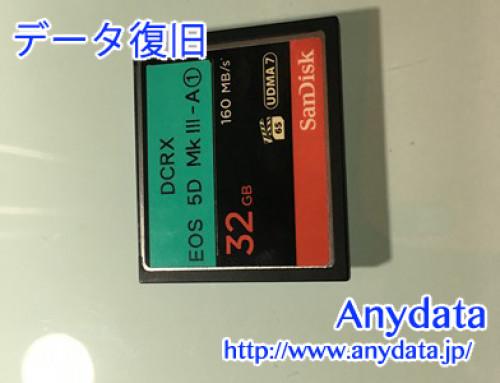 Sandisk CFメモリー 32gb(Model NO:SDCFXPS-032G-X46)