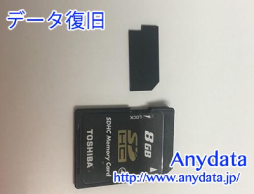 TOSHIBA SDカード 8gb(Model NO:SD-L008G4)