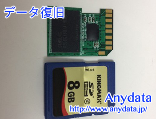 KINGMAX SDカード 8gb(Model NO:KMSDHC10X8G)
