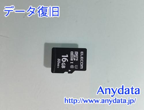 ELECOM MicroSDカード 16gb(Model NO:不明)