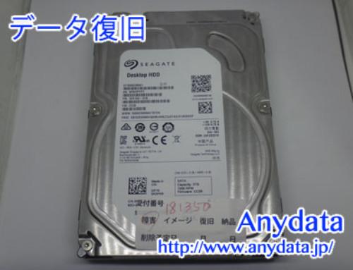 SEAGATE HDD 3TB(Model NO:ST3000DM001)
