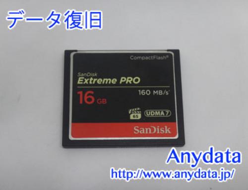 Sandisk CFカード 16GB(Model NO:SDCFXPS-016G-J61)