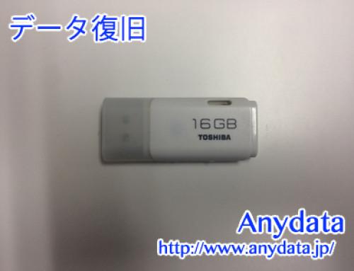 TOSHIBA USBメモリー 16GB(Model NO:TNU-A008G)