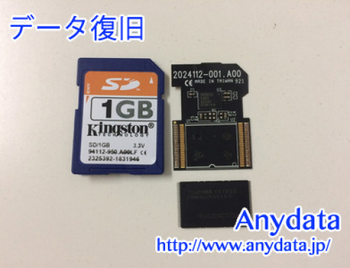 Kingston SDメモリカード 1GB(Model NO:不明)