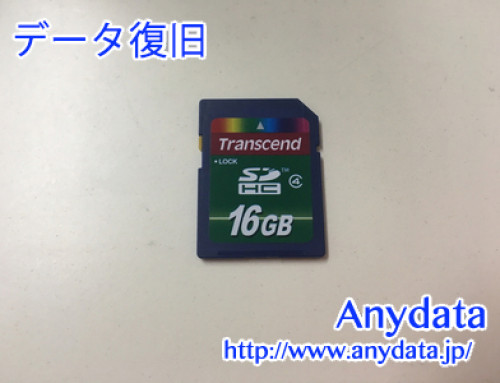 Transcend SDメモリカード 16GB(Model NO:TS16GJF300)