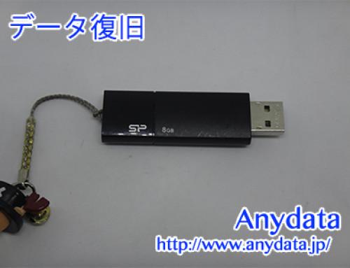 SP USBメモリー 8GB(Model NO:SP008GBUF2U05V1K)