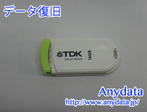 TDK USBメモリー 16GB(Model NO:UFD16GE-PCGRA)