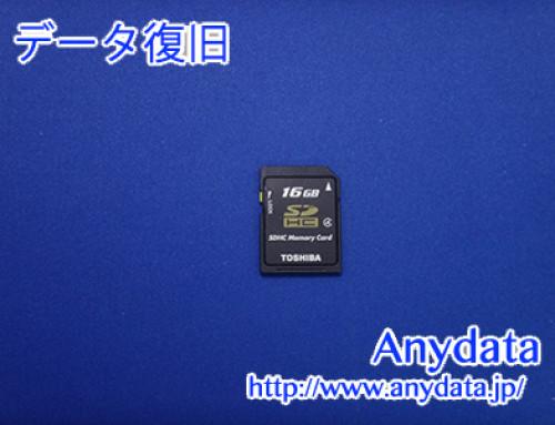 TOSHIBA SDメモリーカード 16GB(Model NO:SD-K16G)
