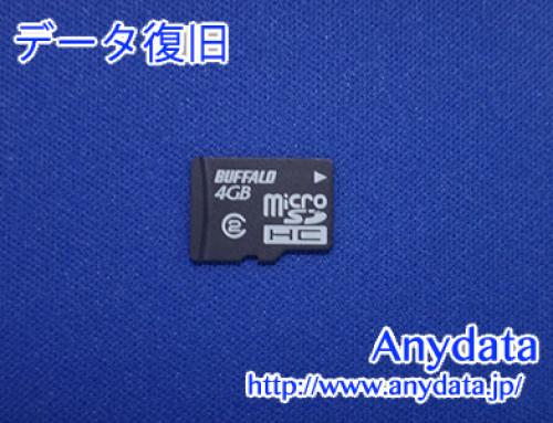 Buffalo MicroSDカード 4GB(Model NO:RMSD-BS04GSA)