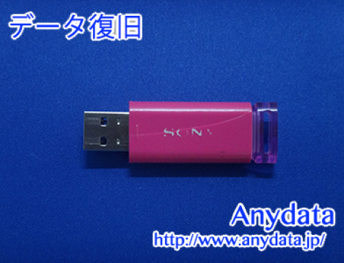 SONY USBメモリー 8GB(Model NO:USM8GU/3C)