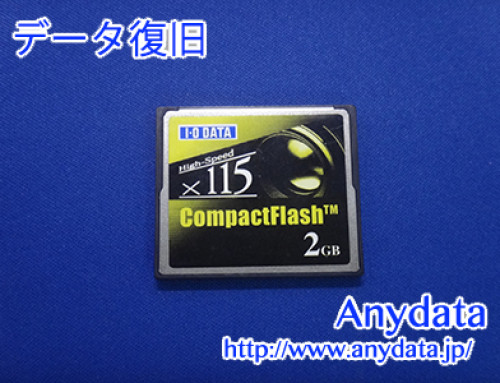 IO DATA CFメモリーカード 2GB(Model NO:CF115-2G)