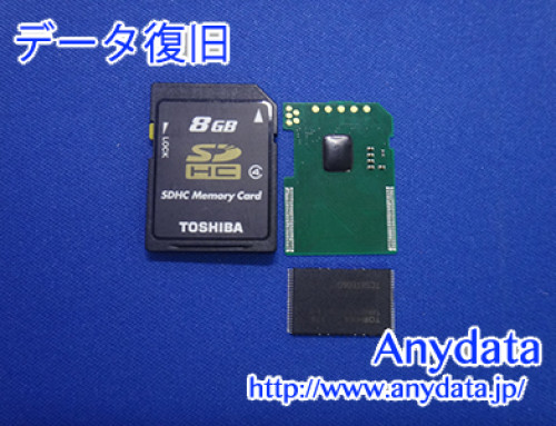 TOSHIBA SDメモリーカード 8GB(Model NO:SD-L008G4)