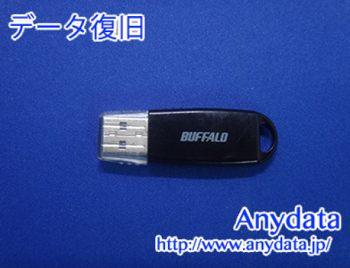 Buffalo USBメモリー 8GB(Model NO:RUF2-WB8GA-BK)