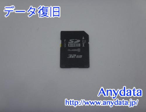 メーカ不明 SDメモリーカード 32GB(Model NO:不明)