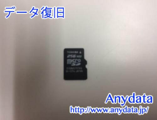 メーカ不明 MicroSDカード 256MB(Model NO:不明)
