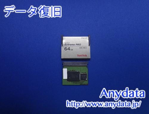 Sandisk CFメモリー 64GB(Model NO:SDCFSP-064G-G46B)