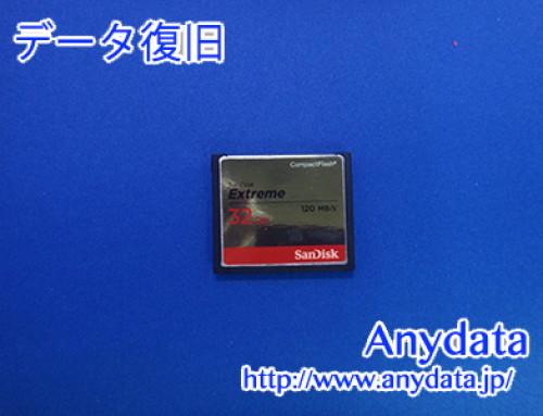 Sandisk CFメモリーカード 32GB(Model NO:SDCFXSB032GG46)